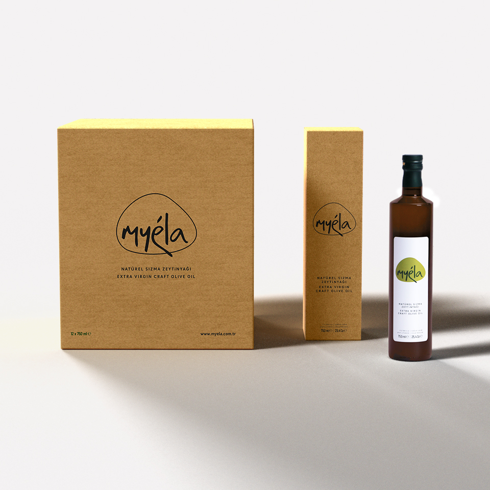 Myéla Package and Label Design